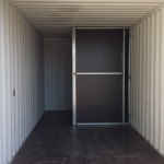 20' Storage container with ablution