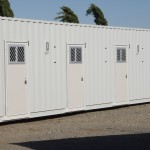 40' Accommodation Container