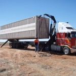 40' Shipping Container Relocation