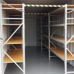 20' Containers H/Duty Shelving