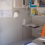 40' Office / Lunch room / Toilet / Lock up (office internal)